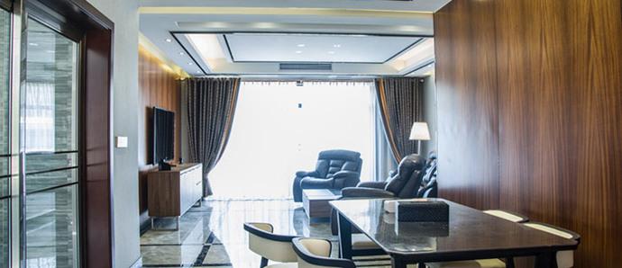 130平花费28万的港式混搭风,设计灵感居然来源于宾馆设计